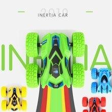 Двухсторонняя инерционная ABS модель игрушечного автомобиля сопротивление трюк прокатки внедорожных транспортных средств самосвал дети автомобиль игрушки для детей мальчиков