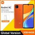 Глобальная версия Xiaomi Redmi 9C мобильный телефон 9 C 2 Гб оперативной памяти, 32 Гб встроенной памяти/3 Гб оперативной памяти, 64 ГБ MTK Helio G35 6,53