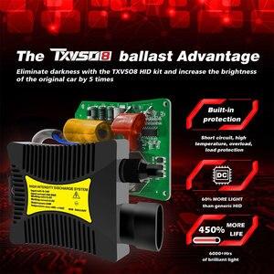 Image 2 - TXVSO8 Mini H7 Xenon Umwandlung Birne 12V Auto Scheinwerfer Kit Hohe Qualität Auto lampen 4300K 6000K 8000K 12000K 2020 VERSTECKTE Lichter