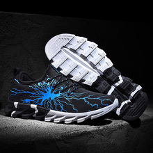 SENTA New Blade Running Shoes for Man 2019 Lightning Mesh Sports Shoes