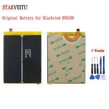 Bateria starveitu para blackview bv6100 5580mah original bateria 6.88