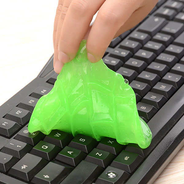 2 Pcs Super Clean Magic Cleaner Gel Keyboard Laptop Mobile Dust Multipurpose Cleaning Tool B88