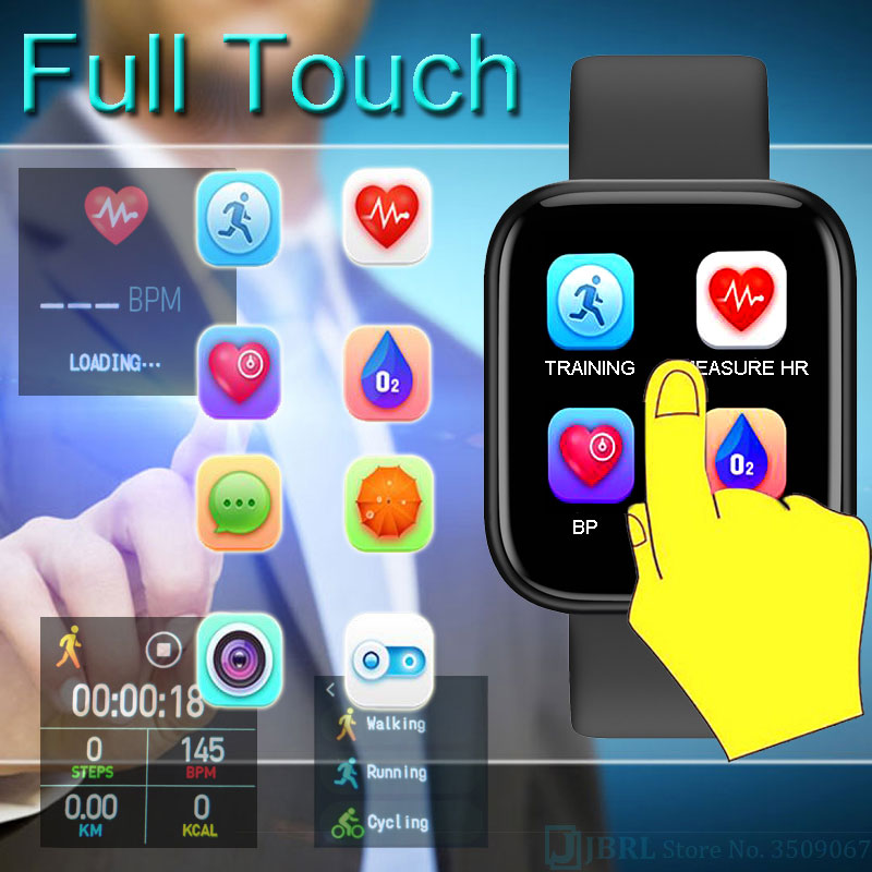 cheapest 2020 New Smart Watch Men Women Smartwatch For Android IOS Electronics Smart Clock Fitness Tracker Silicone Bluetooth Smart-watch