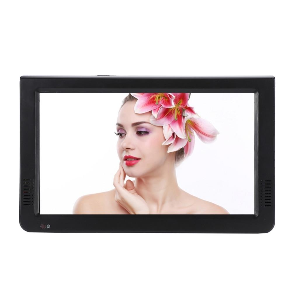 10 inch DVB-T-T2 16:9 Portable TFT-LED HD Digital Analog Color TV Television Player 12