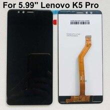 Оригинальный ЖК-дисплей 5,99 дюйма для Lenovo K5 Pro, ЖК-дисплей, дигитайзер сенсорного экрана в сборе для Lenovo K5 pro, замена дисплея + Инструменты