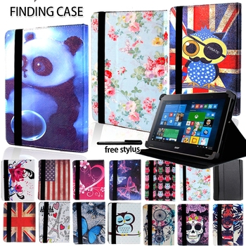 Shockproof Multicolor Folio Leather Stand Cover Case for Acer Iconia One 7 B1/ 8 10 B3 Tablet + Stylus Accessories - discount item  30% OFF Tablet Accessories