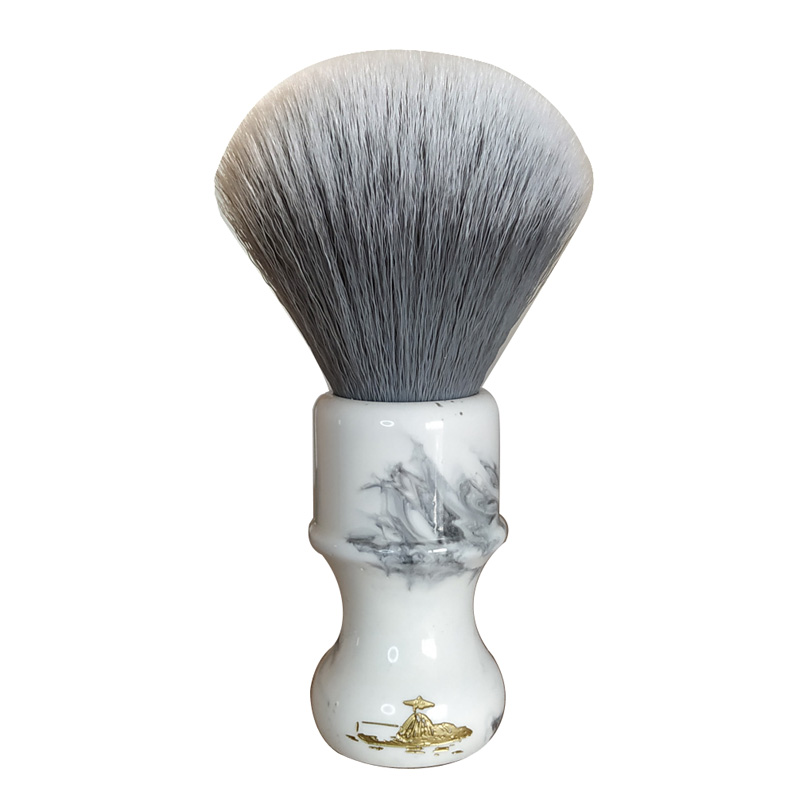 DS  26mm Soft Synthetic Hair Resin Handle Shaving Brush
