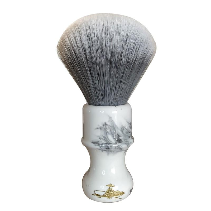 DS  26mm Soft Synthetic Hair Resin Handle Shaving Brush