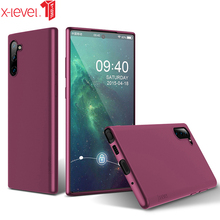 X-level Case For Samsung Galaxy Note 10 Plus Soft Tpu Matte Touch Back Phone Cover For Samsung Galaxy Note 10 Case Note10 x pattern protective tpu back case for samsung galaxy note ii n7100 black