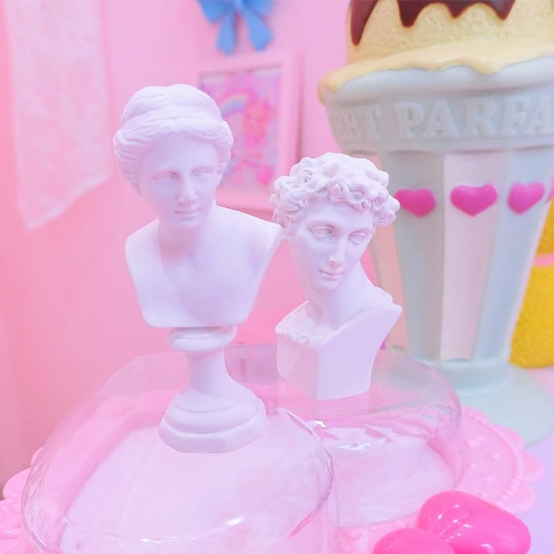 Monde célèbre Statue Mini Figure vénus plâtre Figure décoration résine buste croquis modèle pratique/résine sculpture/artisanat