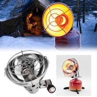 Outdoor Portable Stainless Steel Propane Butane Gas Heater Warmer Stove Heating Cover Lightweight Camping Electric Lighter Stove