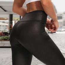 Pants Trousers Push-Up-Leggings Skinny Black Sexy High-Waist Plus-Size Women Stretch