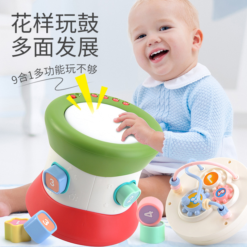 Learning & Education Toy Musical Instrument instrumentos musicales kids toys musica baby toys zabawki dla dzieci kid hand drums