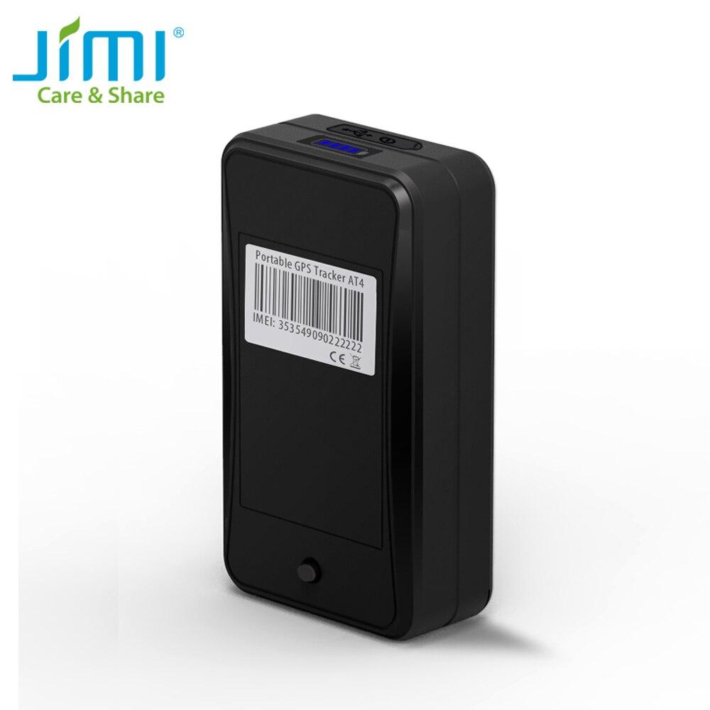 Jimi AT4 GPS трекер с аккумулятором 10000ма · ч, сильный магнит, голосовой мониторинг через приложение платформы 2G GMS GPS локатор для транспортного ср...