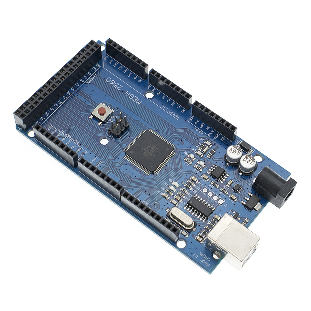 Image 3 - 20sets Mega 2560 R3 Mega2560 REV3 20pcs ATmega2560 16AU Board + 20pcs USB Cable-in Integrated Circuits from Electronic Components & Supplies