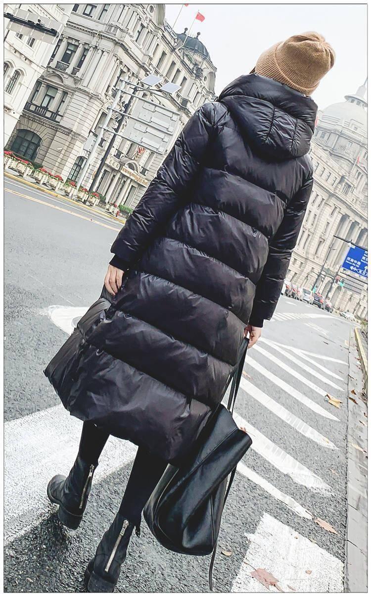 kurtka płaszcze stałe błyszczący 7