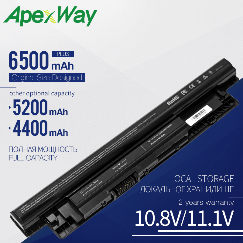 10.8V Laptop Battery MR90Y for DELL Inspiron 14 3421 15 3521 17 3721 14R 5421 15R 5521 17R 5721 vostro 2421 2521 XRDW2 YGMTN