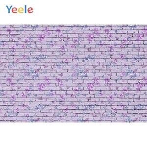 Image 5 - Fondos fotográficos personalizados de pared de ladrillo azul Yeele para sesión de fotos de bebés