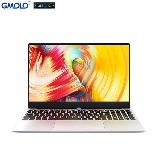 GMOLO 2021 I7 10th Gen Quad Core Processor 8GB/16GB DDR4 RAM 512GB/256GB SSD +1TB HDD 15.6inch Gaming Laptop Notebook 4