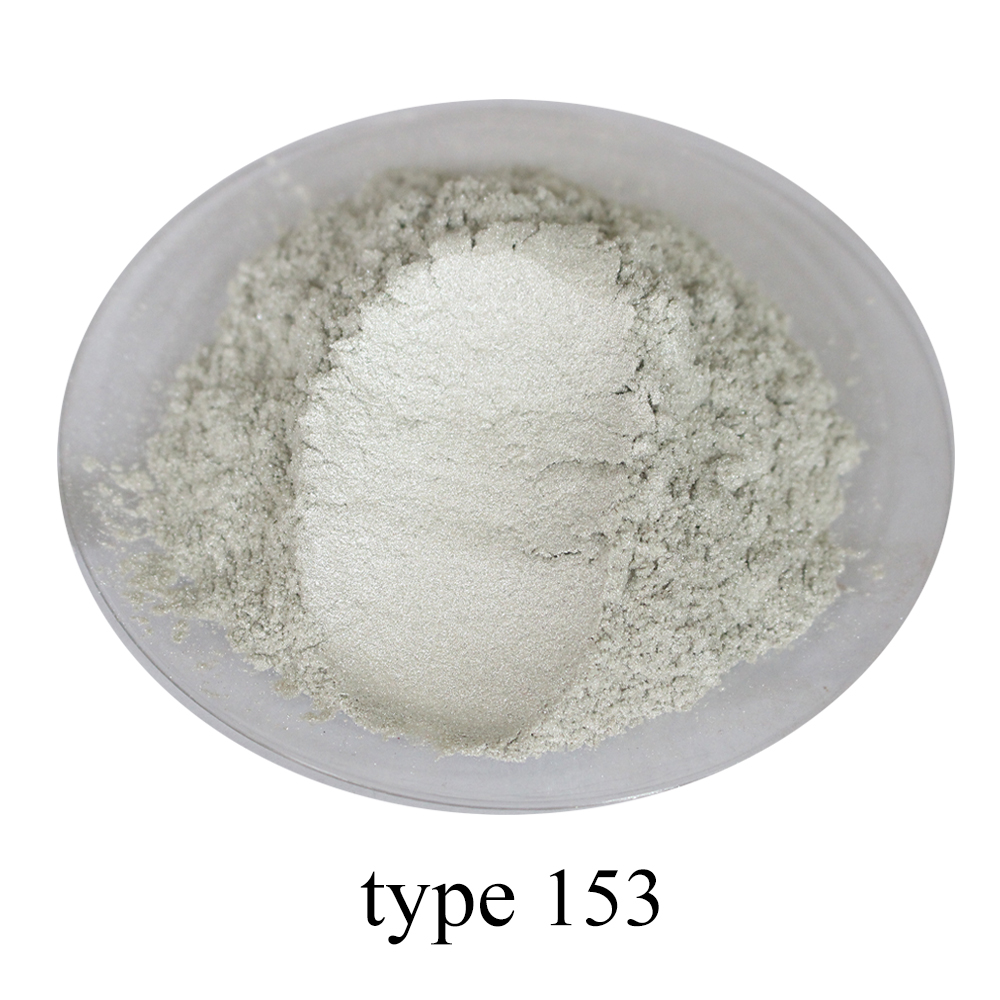 Sparkling Pearl White Pearl Powder Pigment Mineral Mica Powder DIY Dye Colorant For Soap Car Art Crafts 50g Acrylic Paint Powder