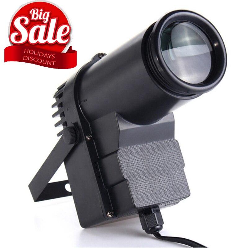 15W RGBW LED éclairage de scène Pinspot faisceau projecteur professionnel DJ DISCO partie KTV rétro-éclairage éclairage de scène 360 degrés