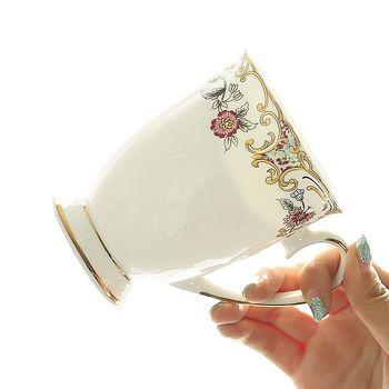 Taza de expreso china de hueso, 300ML, taza de porcelana para taza...