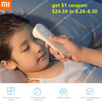 Xiaomi iHealth Non contact Infrared Forehead Thermometer Electronic LED Digital Display Body Health Detector Baby Care