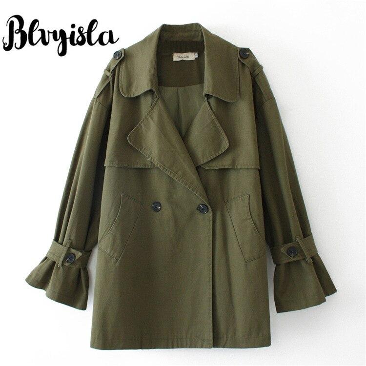 Blvyisla 100kg manteau Oversize femme Style Vintage Punk vapeur Trench automne hiver vêtements légers petit ami Style hauts