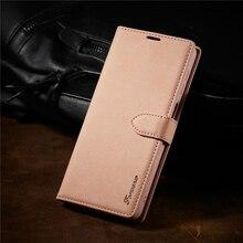جراب هاتف جلدي فاخر لهاتف Samsung Galaxy Note 20 Ultra ، حافظة محفظة لهاتف Note 10 Plus ، Note 9