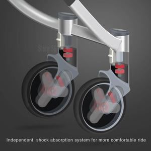 Image 4 - Многофункциональная детская коляска с высоким уровнем освещенности, складная детская коляска, легкая коляска для новорожденных