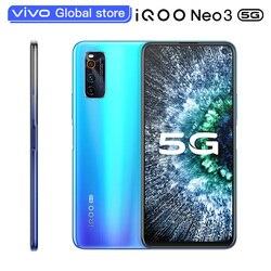 original vivo iQOO Neo 3 Smartphone 6GB 128GB Snapdragon 865 4500mAh 44W Dash Charging 144Hz Screen Refresh Rate NFC MobilePhone