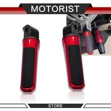 אופנוע אחורי רגל יתדות נשען עבור ימאהה N MAX155 FZ1 FZ6 MT03 MT07 MT09 MT10 Rearset נוסע Footpeg דום