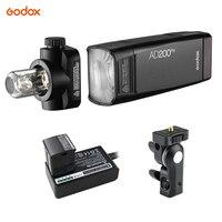 Godox AD200Pro TTL Flash Speedlite for Nikon Sony Fujifilm Canon Camera Portable AV Panel Wireless Control Flash Light