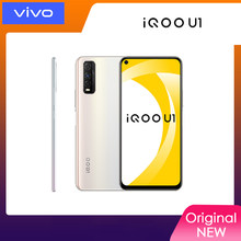 Novo original vivo iqoo u1 4g telefone móvel snapdragon 720g celular 4500mah bateria 18w 6.53 polegadas 48.0mp telefone android