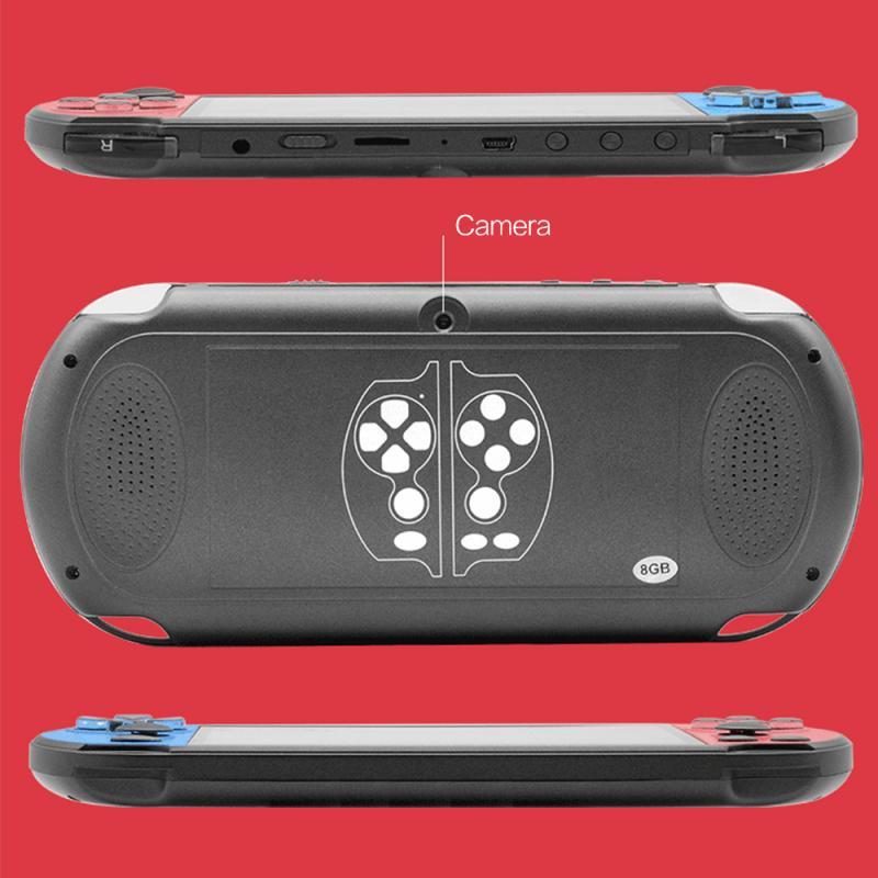 PSP ניו כף יד קונסולת משחקי 5.1 אינץ 8G 128 סיבי קונסולת משחקים מובנית 10,000 משחקים עבור משחק PSP, מצלמה, וידאו, ספר אלקטרוני מישחק להורדה (2)