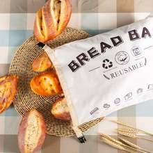 Льняные пакеты для хлеба многоразовый мешок французского багета