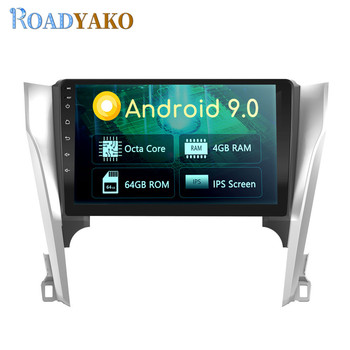 Autoradio 10.1'' Android Auto Car Radio For Toyota Camry 2012-2014 Stereo GPS Navigation Multimedia Video player Car panel 2 Din image