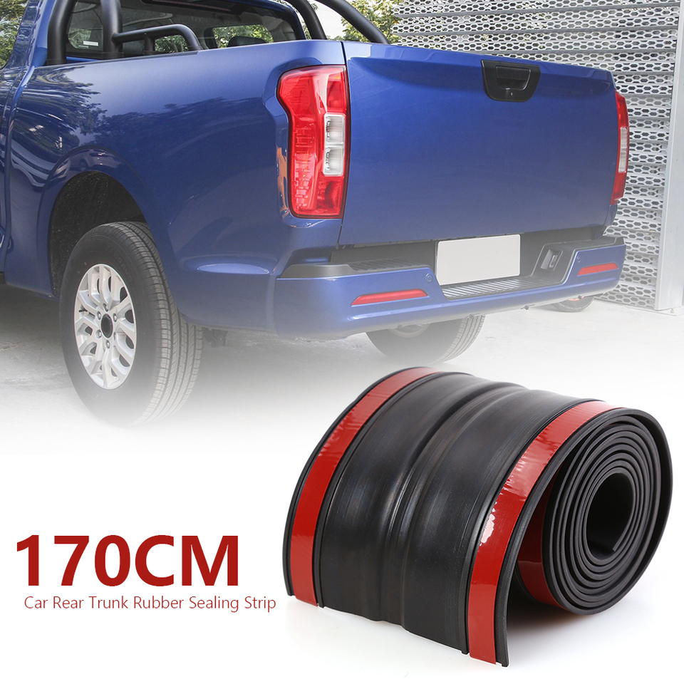 170x11cm Rubber Truck Bed Tailgate Gap Cover Practical Multi Functional Durable Classic Filler Seal Cap For Pickup Truck Car Stickers Aliexpress