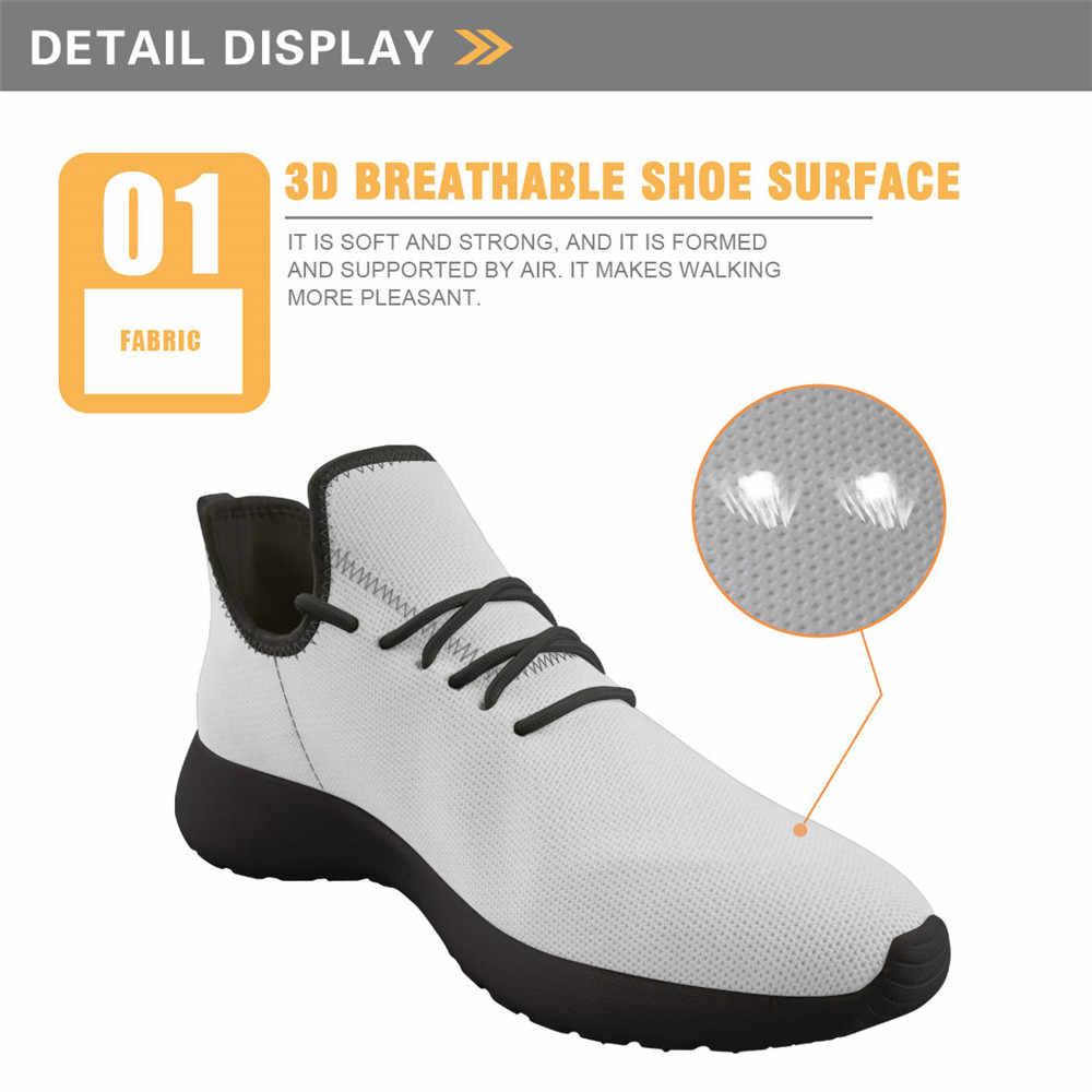 Elviswords Mannen Mode Schoenen Zonnebloem Ontwerpen Print On Demand Adem Licht Outdoor Mesh Gebreide Sneaker Voor Tiener Studenten Jongen Meisje