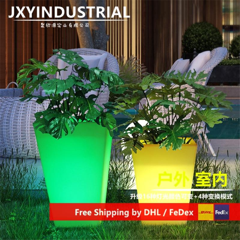LED Flower Pots / Led Light Flower Pot / Led Light Garden Flower Pot