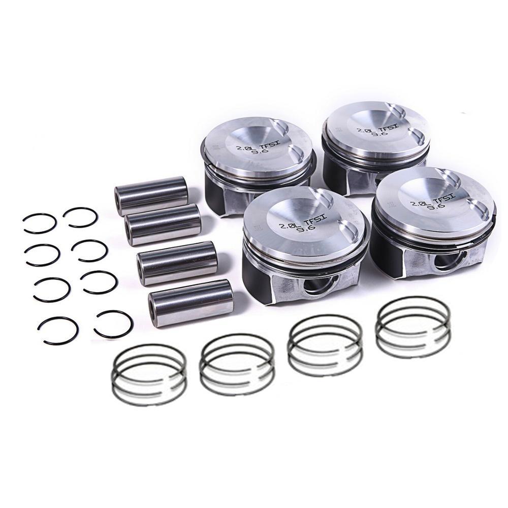 82.5mm Pistons 21mm Pins Ring Sets Fit VW GTI Tiguan AUDI 2.0TFSI CAEB A4 Q5 Passat Golf Skoda