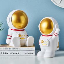 Astronauta skarbonka zabawa śliczny złoczyńca styl skandynawski dekoracja wnętrz sypialnia dekoracja stołu prezent akcesoria do dekoracji wnętrz tanie tanio BOMAROLAN Ludzi Nowoczesne Szkło