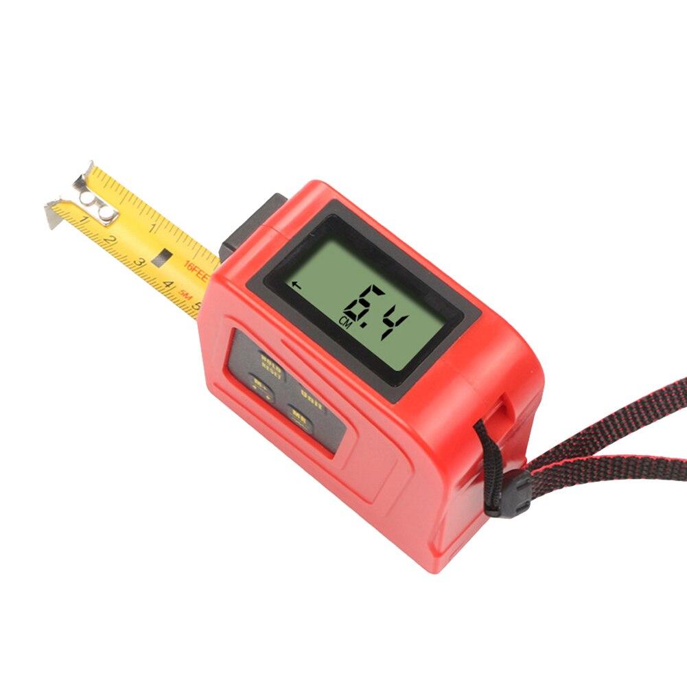 Digital Display Measure Tape 5 Meters Electronic Measure Tool Metric Imperial With Hook JA55