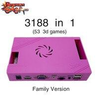 3188 in 1 Pandora Saga Box 12 Family Version board 40p arcade PCB for Coin HD video Jamma games HDMI VGA FBA MAME Motherboard