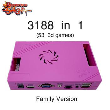 3188 w 1 Pandora Saga Box 12 rodzina wersja pokładzie 40p zręcznościowa PCB na monety HD wideo Jamma gry HDMI VGA FBA MAME płyta główna tanie i dobre opinie GAME CONSOLE Pchacz 3 lat 40p-3188