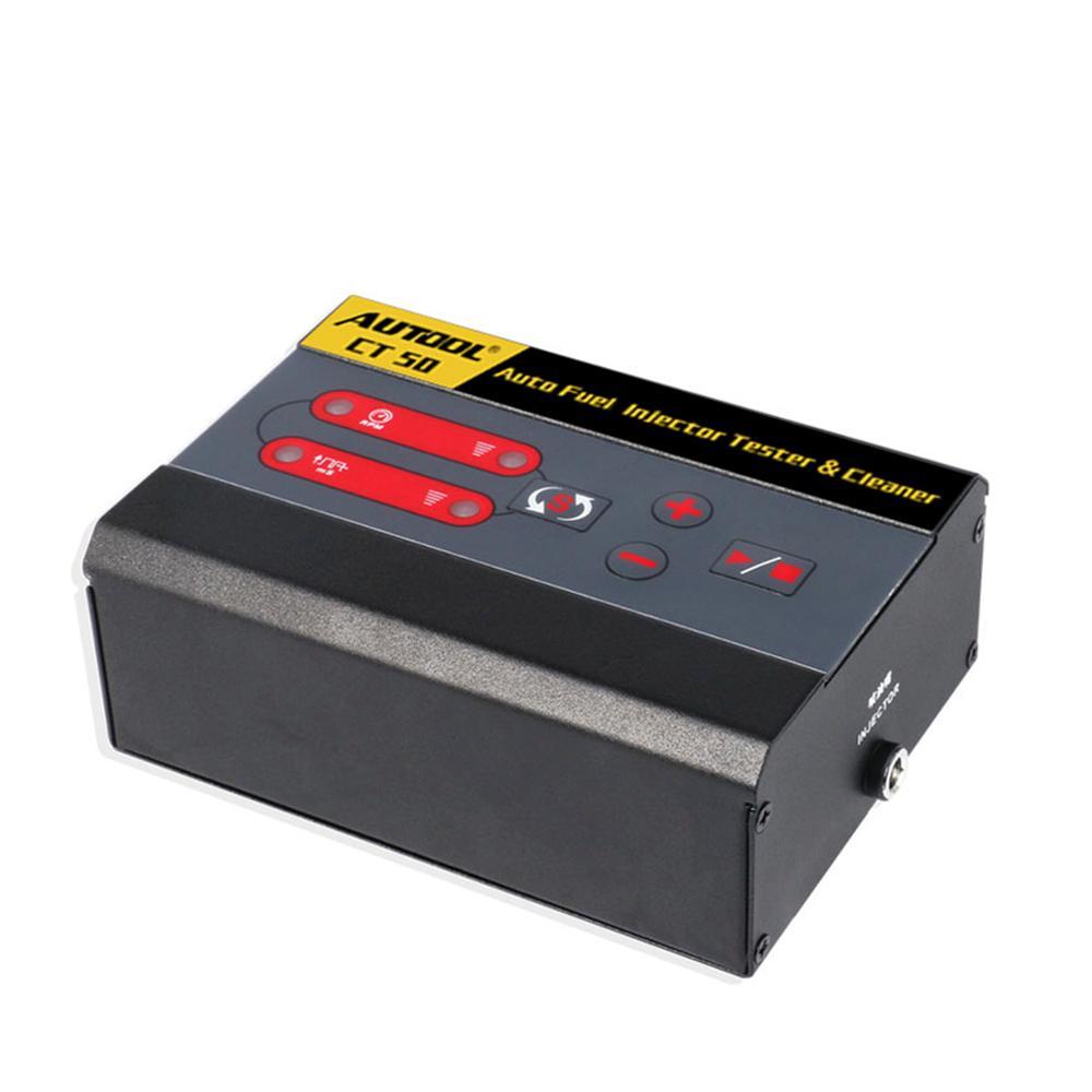 CT50 voiture injecteur de carburant Machine de nettoyage automobile injecteur Diesel commun Rail injecteurs buses nettoyeur testeur
