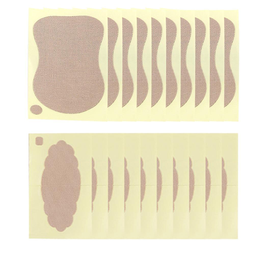 10 шт./пакет женские прокладки от пота, сильнопоглощающие пот, не впитывающие пот патчи для подмышек