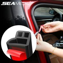 Araba kapı conta şeritleri oto ses yalıtımı sızdırmazlık kauçuk çıkartmalar arabalar mühürler ses yalıtımı evrensel İç oto aksesuarları