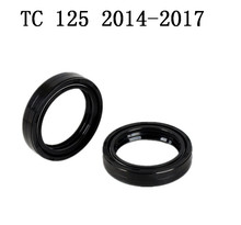 Motorcycle Brand new  Part Front Fork Oil Seal Fit For Husqvarna TC 125 2014-2017