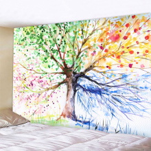 Tapestry Landscape Wallpaper Home-Decoration Tree-Of-Life Nordic Fashionable Pendant
